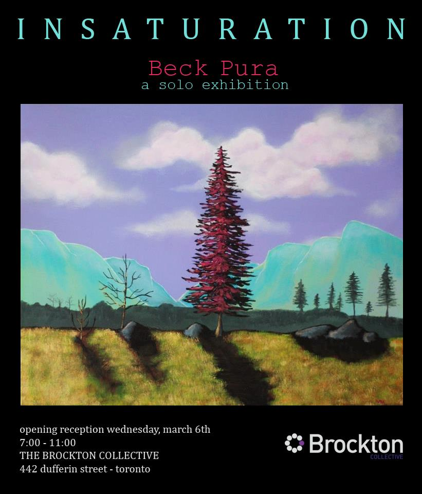 Brockton Presents: Becky Pura - Insaturation