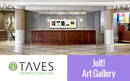 Jolt Art Exhibit @ TAVES 2015