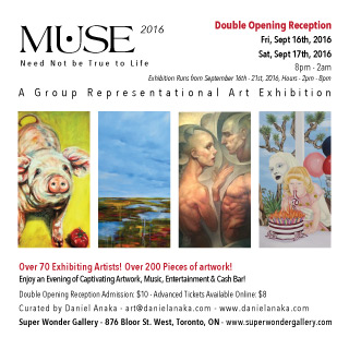 MUSE 2016 - A Representational Art Exhibition - Toronto