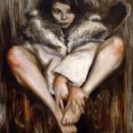 42-cute-girl-furcoat-fashion-acrylic-portrait-figurative-painting-art-toronto-artist-daniel-anaka-jpg