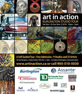 Art in Action Burlington Studio Tour