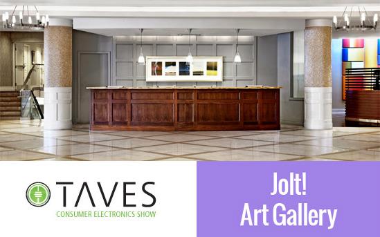 Jolt Art Exhibit @ TAVES 2015